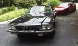 1972 mercedes benz 350 sl nc 22 000 for Mercedes benz winston salem north carolina