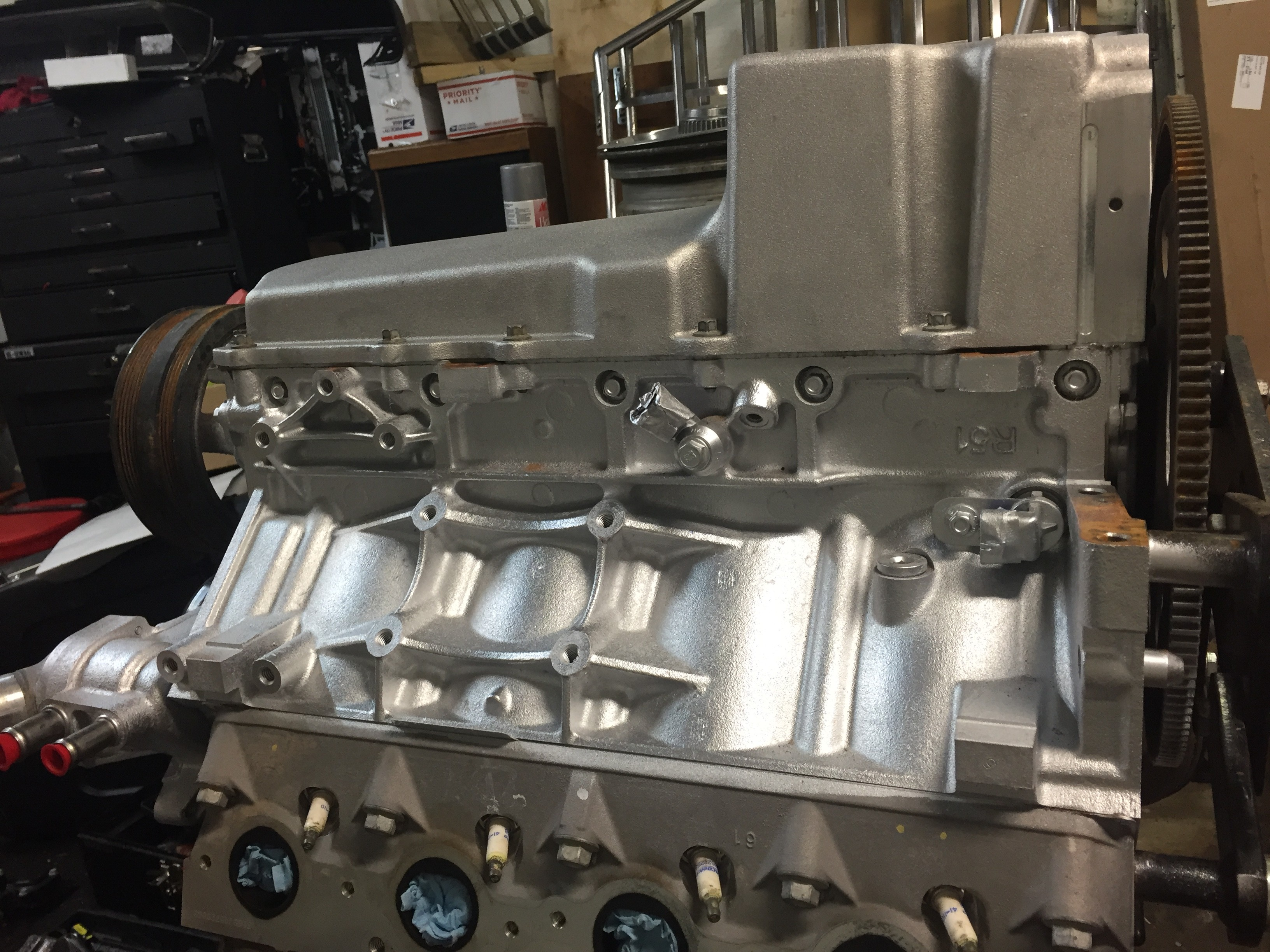 LS L96 6.0 with Holly Oil Pan