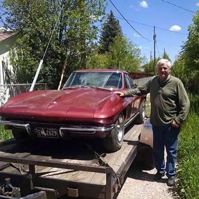 Barn find '67 Corvette, 327/350. Factory AC. All numbers match. 91K miles. Factory side exhaust!