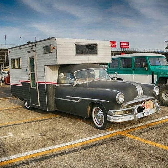 Have you ever seen one of these? 1952 Pontiac Chieftain RV Camper