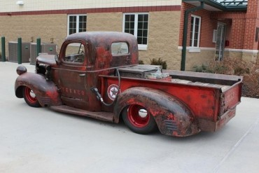 "Texaco themed 1941 Dodge Rat Rod ""Cletus"""