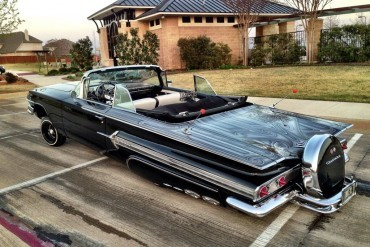 Super Clean 60 Impala Convertible Lowrider