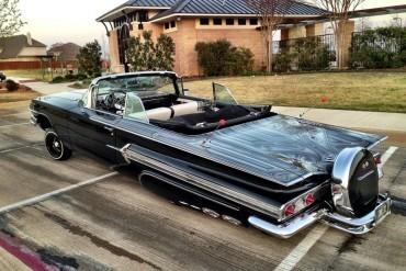 Super clean '60 Impala convertible lowrider