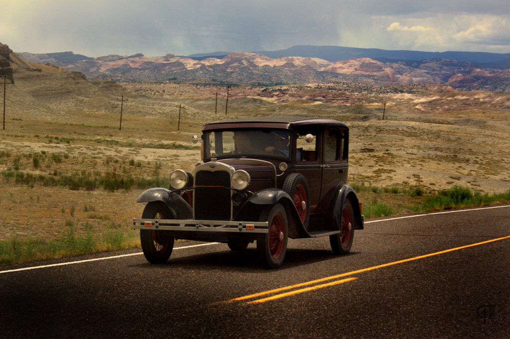 Ford Model A, spotted in Utah