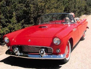 1955 FORD THUNDERBIRD (KS) – $33,500