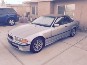 1998 BMW 323 Convertible (CA) – $4,800
