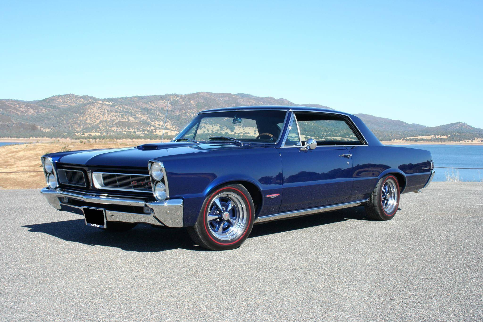 Clean and simple lines on this perfect 1965 Pontiac GTO