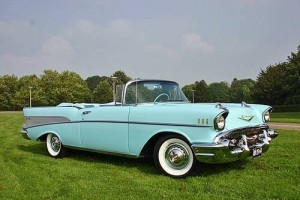 1957 Chevy Bel Air Convertible (AR) – $91,900