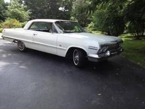 1963 Chevy Impala SS (PA) – $14,900