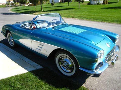 1958 chevrolet corvette ut 169 999. Black Bedroom Furniture Sets. Home Design Ideas
