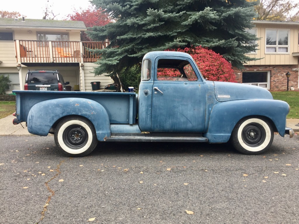 Project Rascal 1953 Chevy 3100 L96 LS