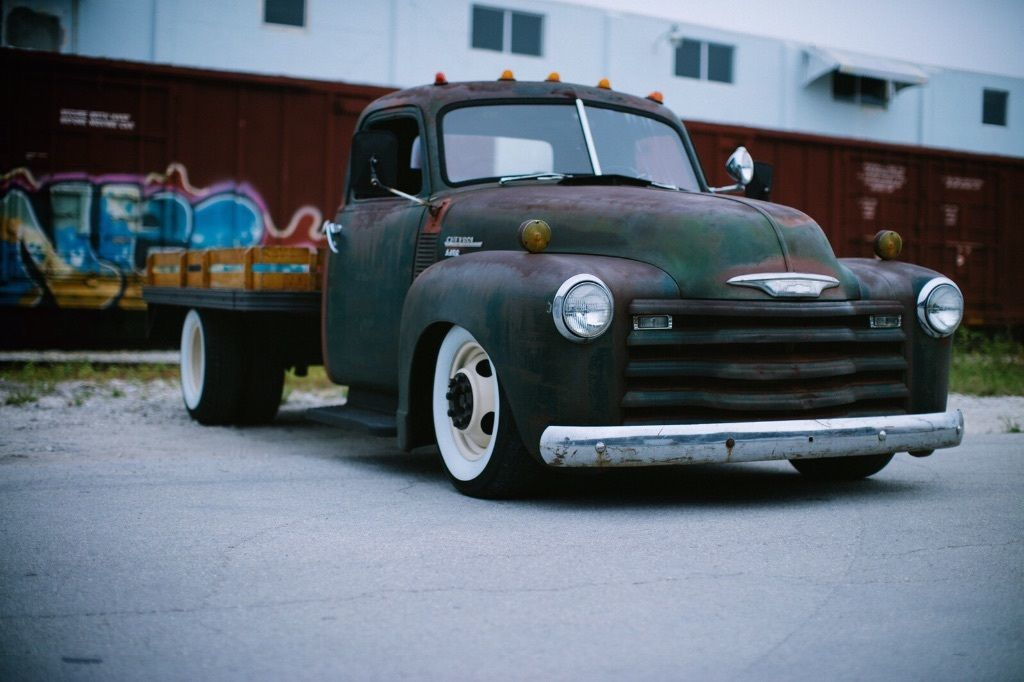 Flatbed For Sale >> Slammed Chevy 6400 Flat Bed Hot Rod