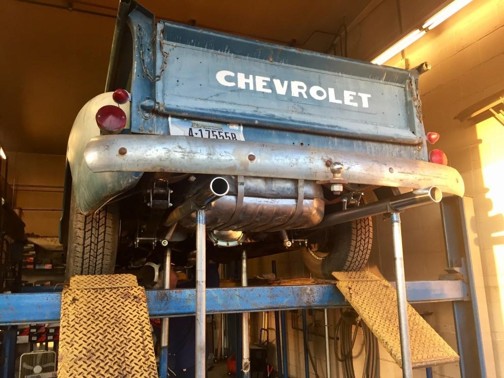 Winkelleiste 53 Chevy Installation