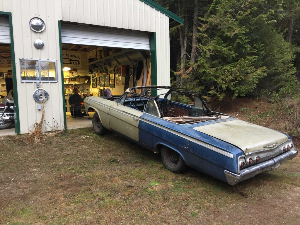 Build Thread on the Barn Find 1962 Impala SS Convertible