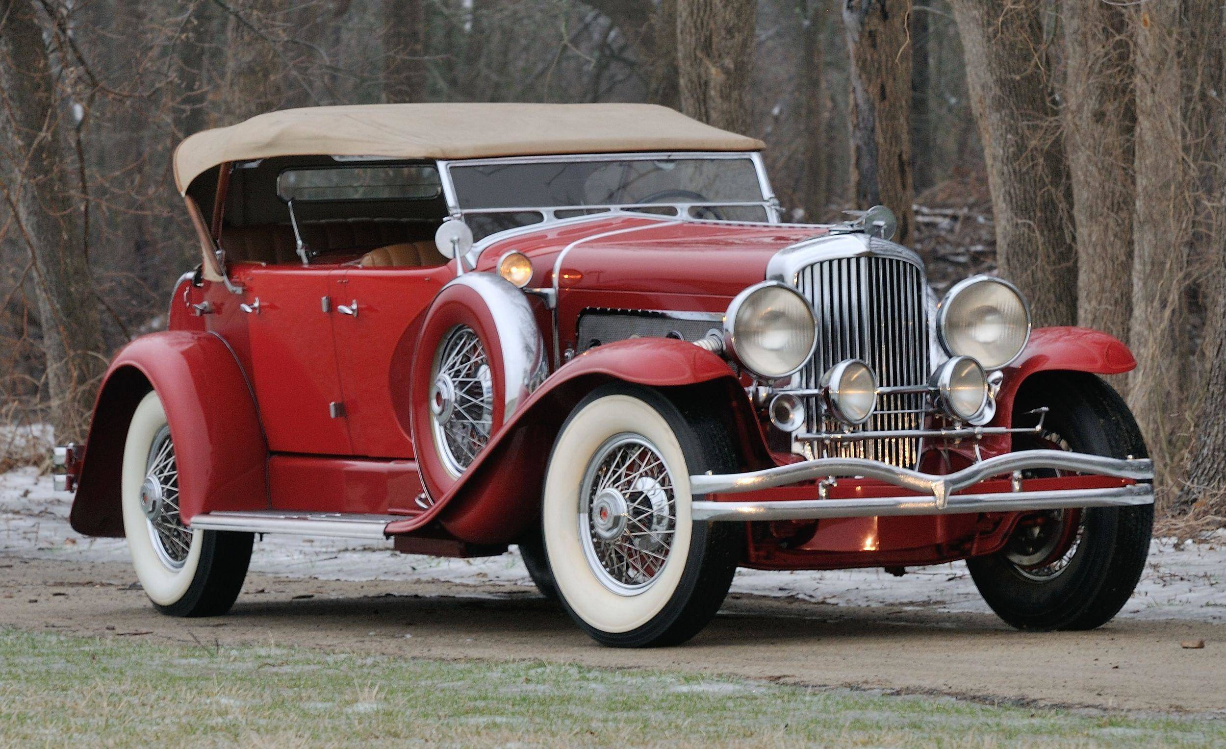 An icon: 1932 Duesenberg Model J