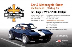 2017 Finish The Race Summer Car & Motorcycle Show and Cruise-In