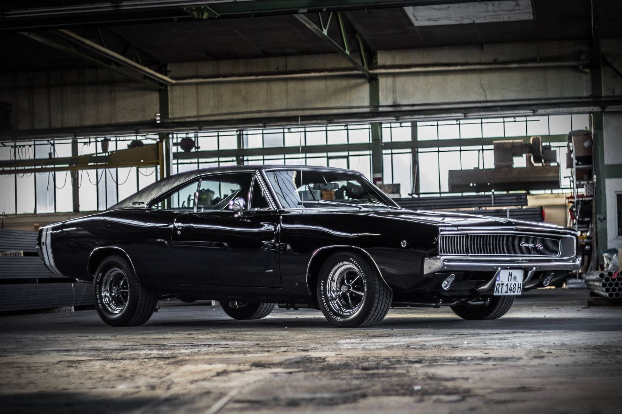 Who Doesn T Love A 500 Hp 68 Charger R T With Bone Stock