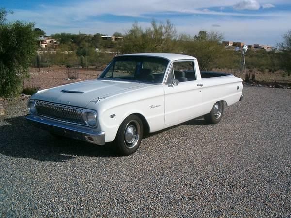 1962 Ford Falcon Ranchero (AZ) -$15,500