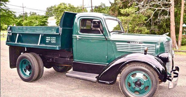 1937 Dodge Brothers 1 1/2 Ton ME 31 Dump Truck (PA) – $19,900