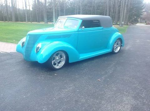 1937 Ford Cabriolet (PA) – $53,900