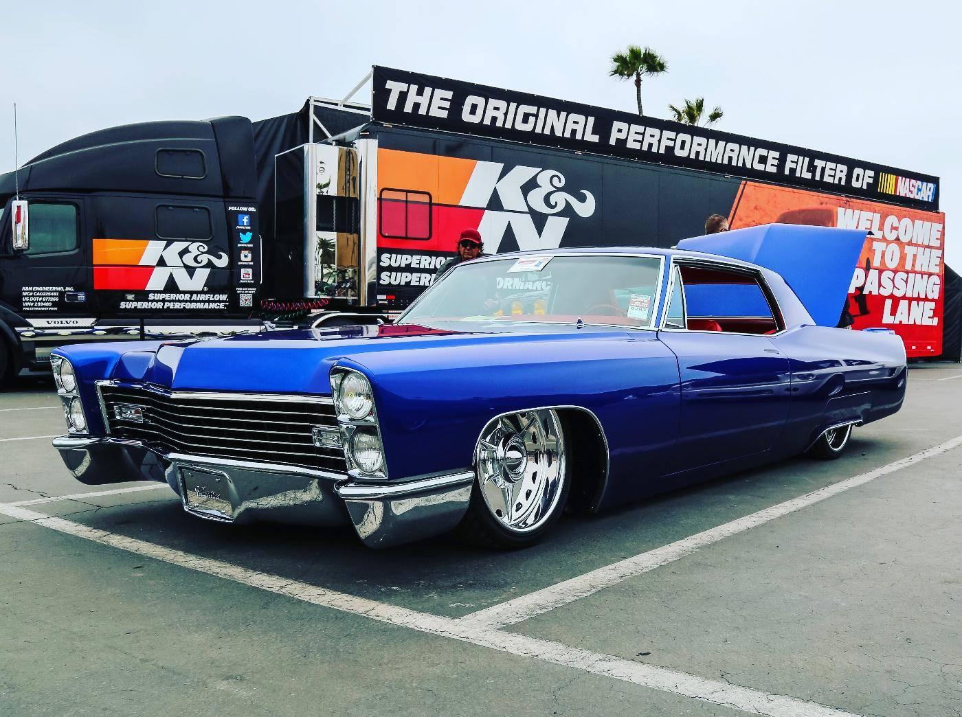 classic Cadillac American racing wheels