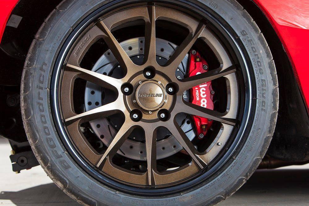 Forgeline Wheels on Chevelle