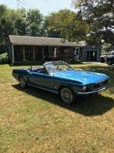 1967 Ford Mustang (MA) – $19,900