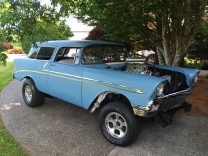 1956 Chevrolet Bel Air Nomad (WA) – $49,900 OBO