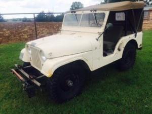 1963 Willys Jeep M38 A1 (KS) – $12,500