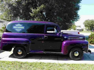 1950 Ford Panel Van (FL) – $35,000