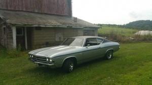 1969 Chevrolet Chevelle SS (NJ) – $39,900
