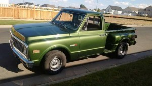 1971 Chevrolet C-10 Stepside (CO) – $19,900