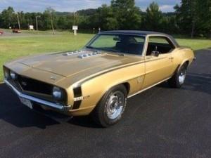 1969 Chevrolet Camaro SS (MD) – $36,000