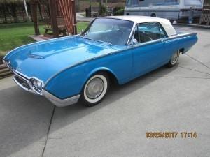 1961 Ford Thunderbird (CAN) – $18,500(USD) OBO, $23,860(CAD)