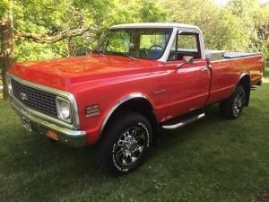 1972 Chevrolet K20 (PA) – $24,900