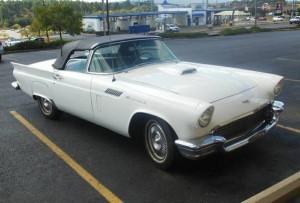 1957 Ford Thunderbird (AR) – $40,000 NEG