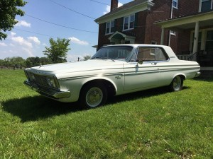 1963 Plymouth Fury Superstock (PA, USA) – $55,000 USD