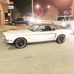 1968 Ford Mustang 302 Coupe (MS) – $12,900 NEG