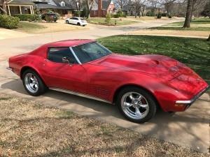1972 Chevrolet Corvette (LA) – $32,900 obo