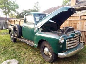 1949 GMC FC102 1/2 ton pick up truck (TX) – $19,900 obo