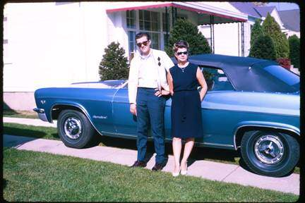 Larry's First New Car: 1966 Impala SS396 Convertible