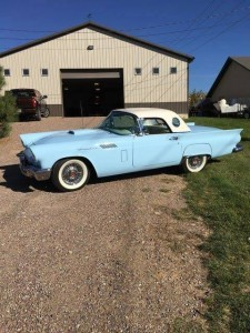1957 Ford Thunderbird convertible (MT) – $39,500