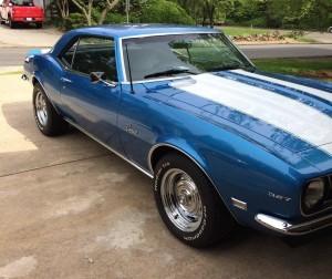 1968 Chevy Camaro (CA) – $34,900 negotiable