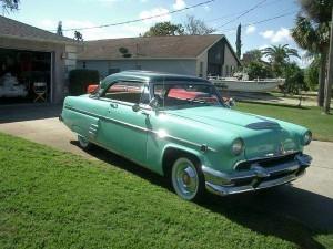 1954 Mercury Monterey coupe (FL) – $24,900 obo
