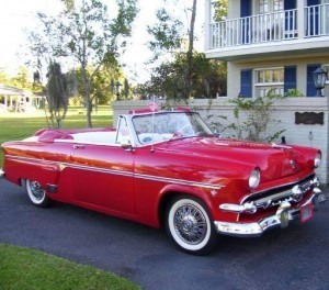 1954 Ford Sunliner Convertible (MS) – $33,000 obo