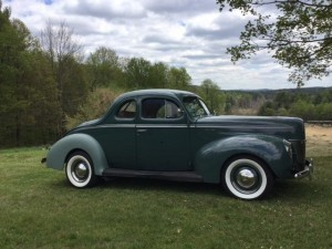 1940 Ford Deluxe Coupe Hot Rod (MA) – $41,900 neg