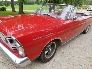 1965 Ford Galaxie 500 convertible (WI) – $19,900