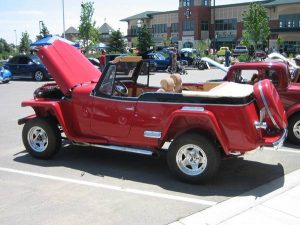 1950 Willys Jeepster Phaeton MODIFIED (CO) – $47,900