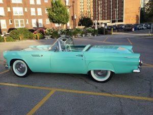 1955 Ford Thunderbird Convertible (MO) – $52,500 negotiable