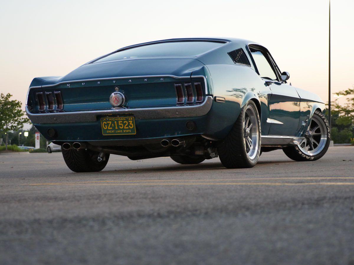 Sparta51 Oliver 1968 Mustang Fastback